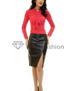 Fusta Leather Skin Black