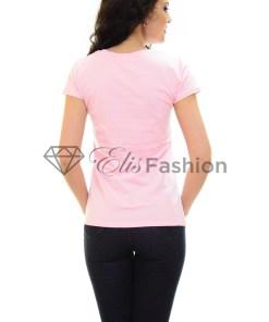 Tricou Addictive Heart Pink