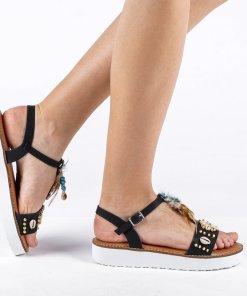 Sandale dama Urbina negre