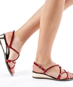 Sandale dama Encroe rosii