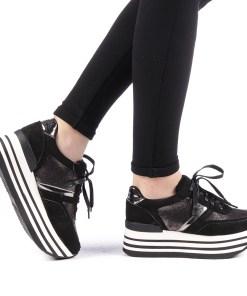 Pantofi sport dama Pomber negri