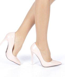 Pantofi stiletto Adelle roz