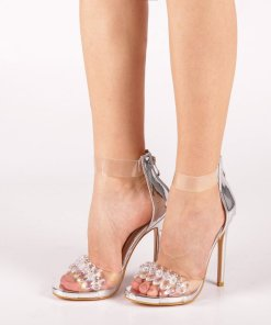 Sandale dama Malina argintii