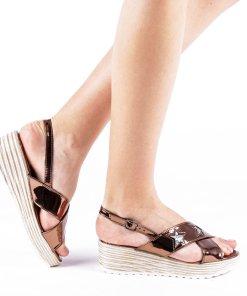 Sandale dama Mina maro