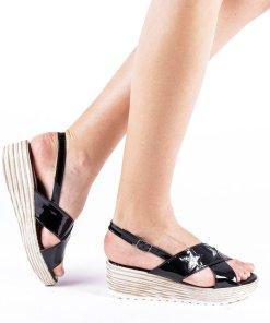 Sandale dama Mina negre