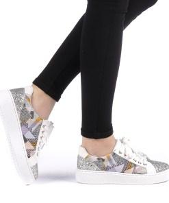 Pantofi sport dama Jalima albi
