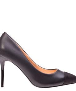 Pantofi cu toc Claudia negri