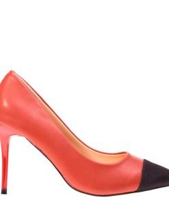 Pantofi cu toc Claudia grena