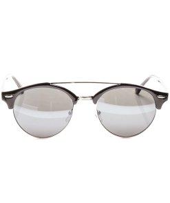 Ochelari de soare dama P5077C1 argintiu cu negru toc protectie