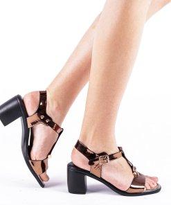 Sandale dama Caitlyn bronze