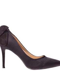 Pantofi cu toc Karina negri
