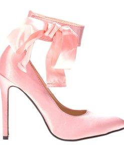 Pantofi stiletto Suzanne roz