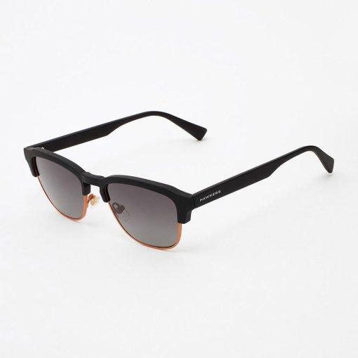 Ochelari de soare barbati Hawkers CLATR03 Rubber Black Gradient Classic