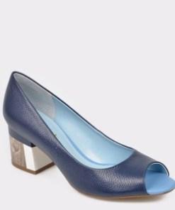 Pantofi EPICA bleumarin, 5564207, din piele naturala
