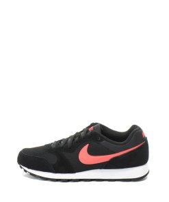 Pantofi sport cu insertii de piele intoarsa si logo MD Runner