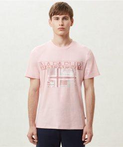 Tricou Sawy Pale Pink New