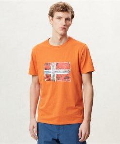 Tricou Seitem Amber Orange