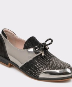 Pantofi FLAVIA PASSINI negri, Vr622, din piele naturala