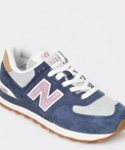 Pantofi sport NEW BALANCE bleumarin, Wl574, din material textil