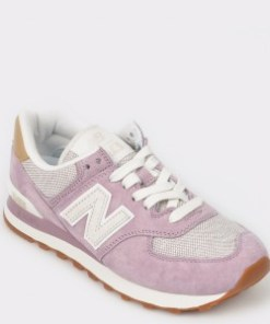 Pantofi sport NEW BALANCE mov, Wl574, din material textil