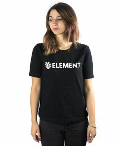 Tricou Element Logo Crew black
