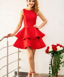 Rochie One Defense Red
