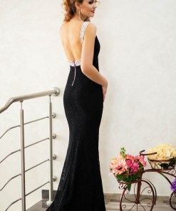 Rochie Long Distance Black