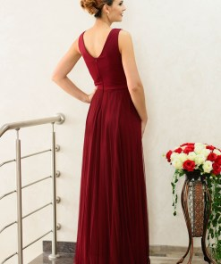 Rochie More Of It Burgundy
