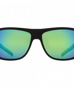 Ochelari LOOM-005 matt black/green mirror