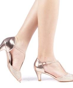 Sandale dama Cezara champanie
