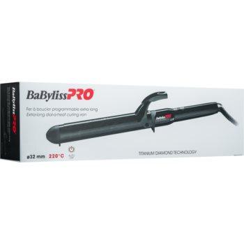 BaByliss PRO Titanium Diamond Extra Long ondulator pentru păr lung