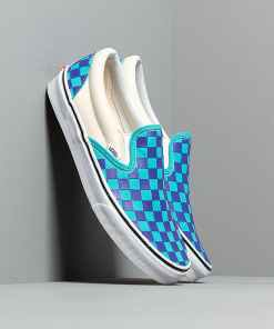 Vans Classic Slip-On (Thermochrome Checker) Purple Checkerboard