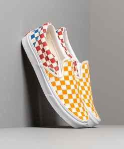 Vans Classic Slip-On (Checkerboardard) Multi/ True White