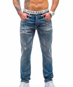 Jeansi pentru barbat albastri Bolf 206