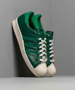 adidas Superstar 80S Core Green/ Bright Green/ Off White