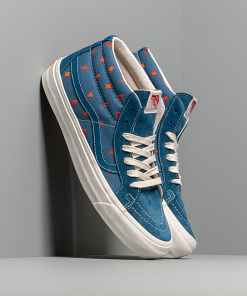 Vans Og Sk8-Mid Lx (Sd/Cvs/Embdry) Denim/ White