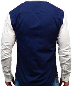 Camasa eleganta cu maneca lunga pentru barbat bluemarin Bolf 6919
