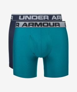 """Under Armour Original Series 6"""" Boxeri, 2 bucăți pentru Bărbați - 65046 - culoarea Albastru"""
