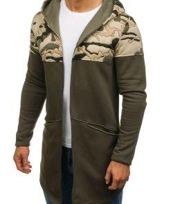 Bluza cu gluga pentru kaki Bolf 9117