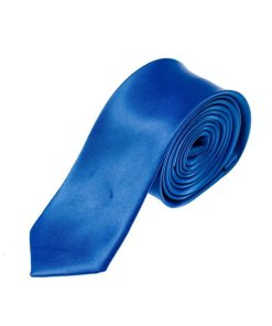 Cravata eleganta pentru barbat albastra Bolf K001