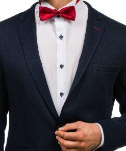 Papion elegant pentru barbati bordo Bolf M001