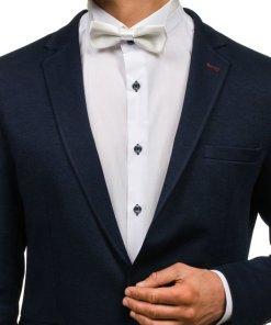 Papion elegant pentru barbat ecru Bolf M0001
