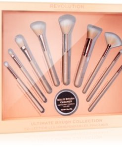 Makeup Revolution Ultimate Brush Collection set perii machiaj