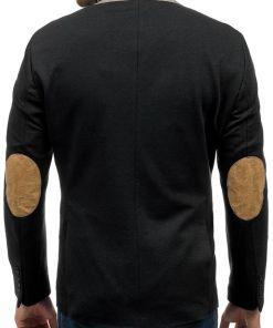Sacou elegant pentru barbat negru Bolf 9400