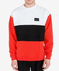 Calvin Klein Hanorac pentru Bărbați - 80664 - culoarea Negru Roșu Alb
