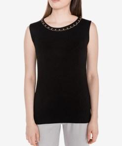 Guess - Sally Top pentru Femei - 81636 - culoarea Negru