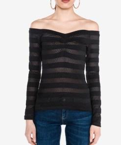 Guess - Dorina Top pentru Femei - 81647 - culoarea Negru