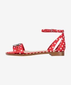 Guess - Reaka3 Sandale pentru Femei - 83635 - culoarea Roșu