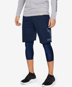 Under Armour Project Rock Terry Pantaloni scurți pentru Bărbați - 84510 - culoarea Albastru