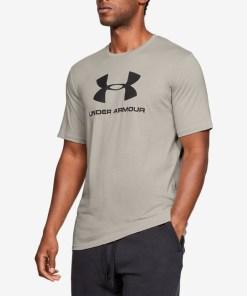 Under Armour Sportstyle Tricou pentru Bărbați - 82616 - culoarea Maro Gri